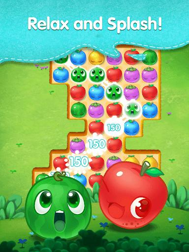 Fruit Splash Mania - Line Match 3 apkmr screenshots 8