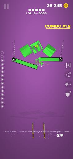 Juicy Slice: Tap to smash! apktreat screenshots 1