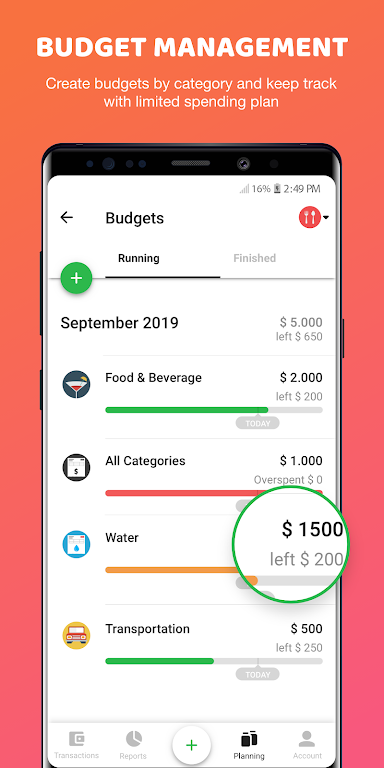Money Lover: Expense Manager & Budget Tracker  poster 4