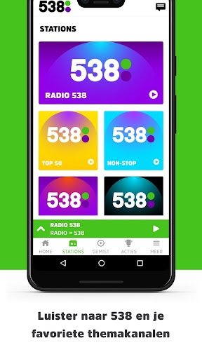 Radio 538 modavailable screenshots 2