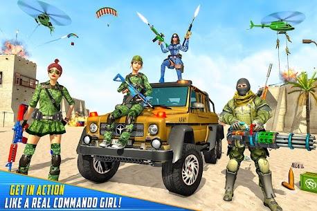 Real Commando Shooting Strike Mod Apk (God Mode/Dumb Enemy) 4