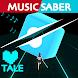 Music Saber : Video Game Undertale Deltarune Sans