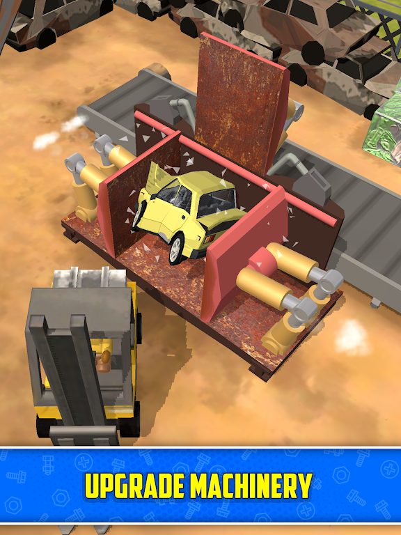 Scrapyard Tycoon Idle Game poster 9