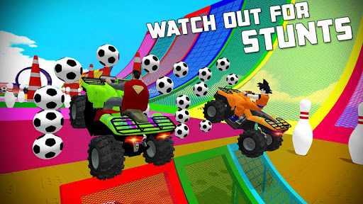 ATV Quads Superheroes Stunts Racing screenshots 19
