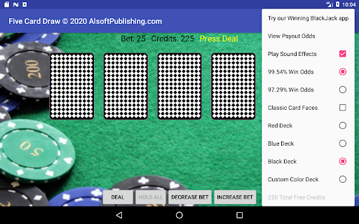 Five Card Draw Poker  screenshots 18