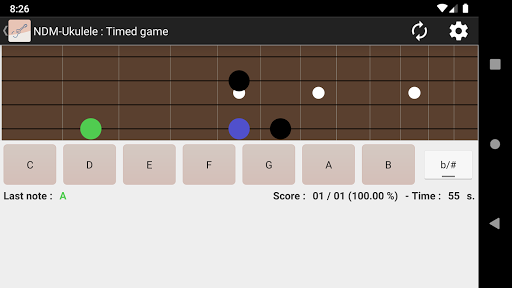 NDM - Ukulele (Learning to read musical notation) 6.3 screenshots 1
