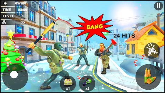 Creative Battle :Firing Destruction Battlegrounds – APK Mod for Android 3