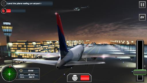 Flight Plane Simulator 3D : Airplane Flying Sim apktram screenshots 4