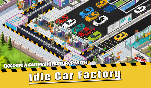 Idle Car Factory: Car Builder, Tycoon Games 2021ud83dude93  screenshots 1