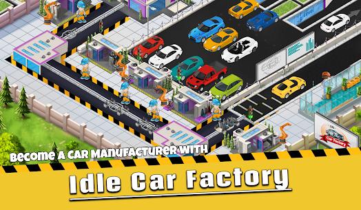 Idle Car Factory MOD Apk 13.0.4 (Unlocked) 1
