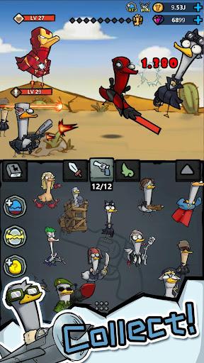 Merge Duck - Idle Click RPG apktram screenshots 2