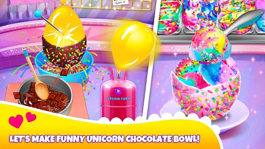 Girl Games: Unicorn Cooking Games for Girls Kids 4