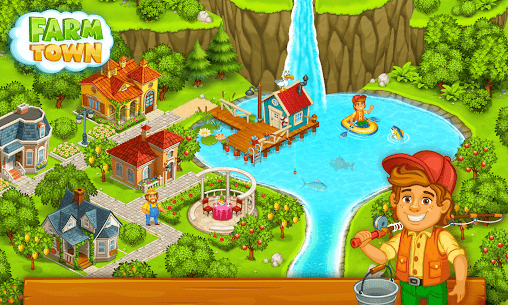 Farm Town Mod Apk: Happy farming Day (Unlimited Gold) Download 7