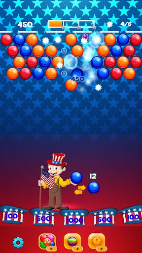 us bubble shooter fun game 2018 screenshot 3