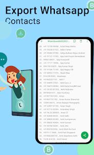 WhatsSave Mod Apk: Auto Save Number (Pro Feature Unlock) 5
