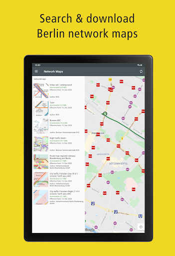 BVG Fahrinfo: Bus, Train, Subway & City Map Berlin 6.8.3 (108) Screenshots 24