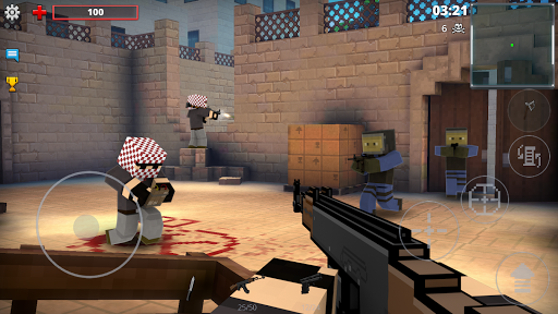 Pixel Strike 3D - FPS Battle Royale apktreat screenshots 2