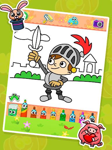 Coloring games : coloring book  Screenshots 8