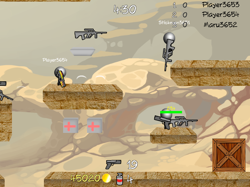 Stickman Multiplayer Shooter 1.092 screenshots 10