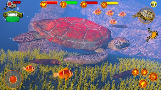 Code Triche Aventure de survie des tortues:animaux marins 2020 APK MOD (Astuce) screenshots 1