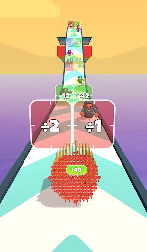 Flying Arrow Fest - Count Masters Brain Challenge  screenshots 2