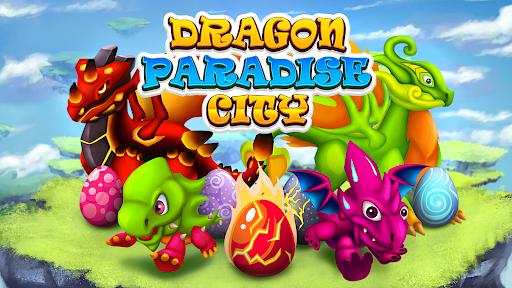 Dragon Paradise City: Breeding War Game  screenshots 5