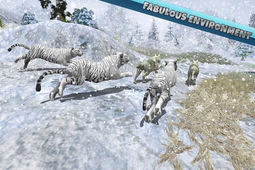 Arctic Wolf Family Simulator: Wildlife Animal Game 2.2 screenshots 10