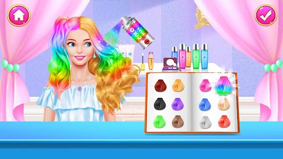 Girl Games: Hair Salon Makeup Dress Up Stylist 1.5 Screenshots 6