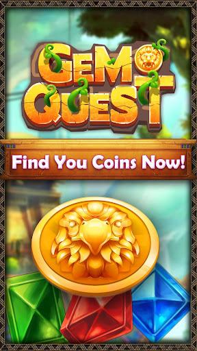 Gem Quest - New Jewel Match 3 Game of 2021 1.1.9 screenshots 6