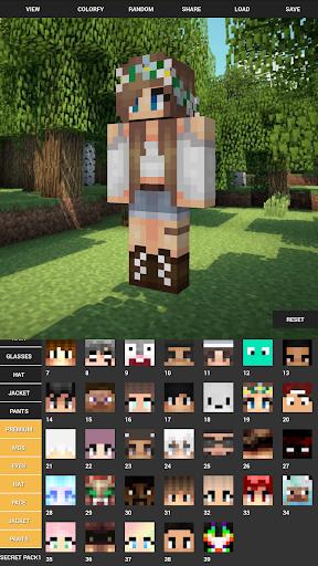 Custom Skin Creator For Minecraft apktram screenshots 8