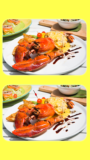Find The Difference - Delicious Food Pictures screenshots 6