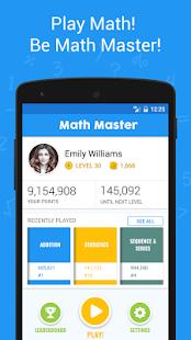Math Master - Brain Quizzes & Math Puzzles