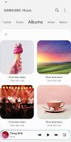 screenshot of Samsung Music