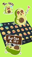Avocado Life Emoji Stickers