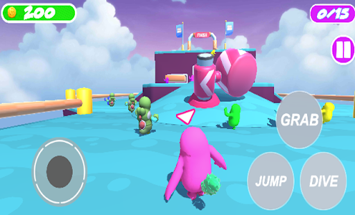 FaII Guys Knockout : Obstacles without fall! Apkfinish screenshots 4