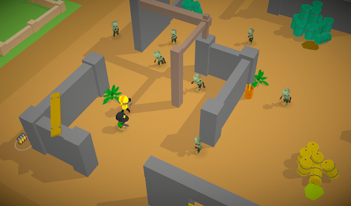 Zombie Battle Royale 3D io game offline and online 1.5.1 screenshots 2