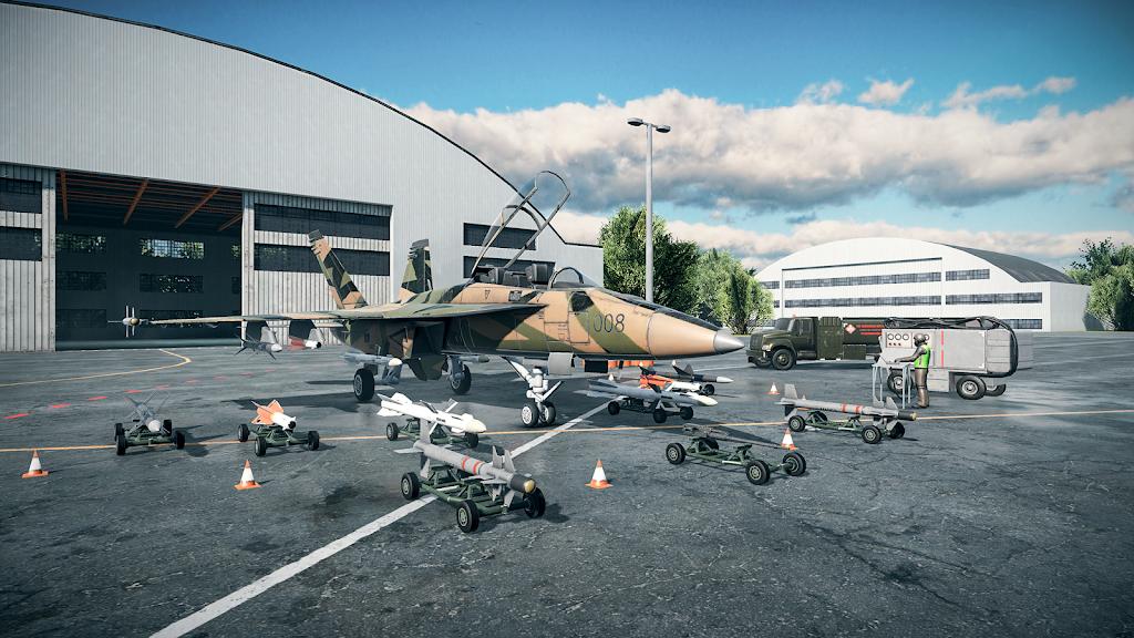 Sky Combat: war planes online simulator PVP  poster 14