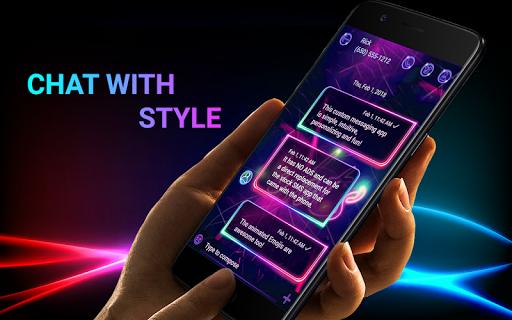 wa terbaru 2021 warna biru android2mod screenshots 2