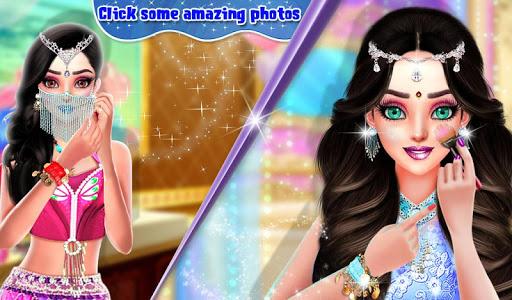 Beautiful Belly Dancer Girl Salon : Dressup Games  screenshots 13