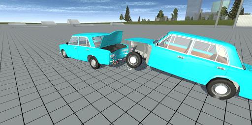 Simple Car Crash Physics Simulator Demo 1.1 screenshots 4