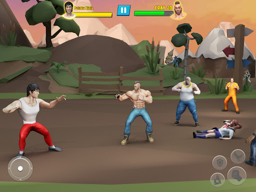 Beat Em Up Fighting Games: Kung Fu Karate Game 3.5 screenshots 7