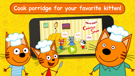 Kid-E-Cats: Cooking for Kids with Three Kittens!  screenshots 1