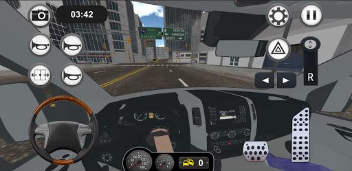 Minibus Bus Transport Driver Simulator apkpoly screenshots 10