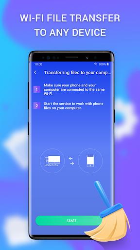 Cleaner - clean the phone, memory, cache & booster apktram screenshots 7
