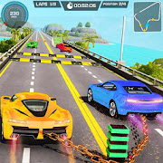 Mega Ramp GT Chained Car Stunts Free