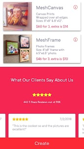 Canvas Prints and Photo Tiles by MeshCanvas® 1.0.245 APK + MOD Download Free 2