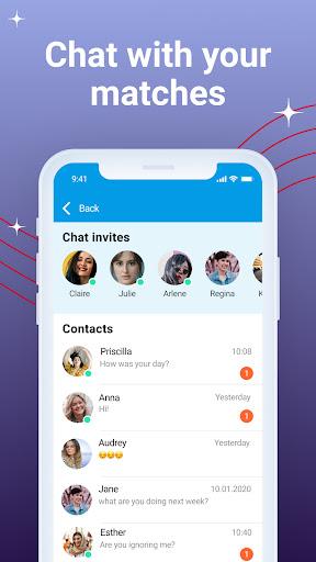 Bloomy: Dating Messenger App apktram screenshots 3