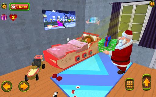 Santa Christmas Infinite Track screenshots 20