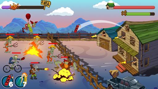 Code Triche Zombie Ranch. Zombie jeux de tir (Astuce) APK MOD screenshots 1