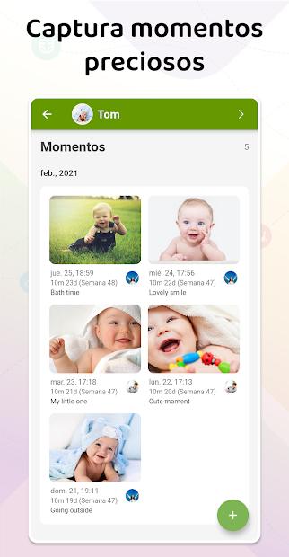 Screenshot 4 de Baby Daybook - Seguimiento de lactancia y cuidado para android